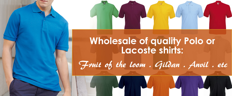 Wholesale of Polo Shirts
